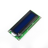 1pcs LCD Display Module 1602 16x2 Character HD44780 Controller Blue Screen Backlight DropShipping