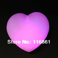 New LED Heart-Shape Night Light Lamp 7 Color Changed