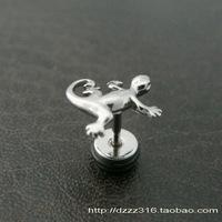 Fashion accessories exquisite titanium stud earring earrings gekkonidae