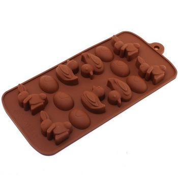 1pc /lot  Free Shipping Duck &egg  Chocolate Cake Baking Silicone Bakeware Mould Mold ON SALE 670114