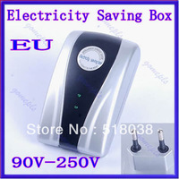 Free Shipping New Type Power Electricity Saving Box Energy Saver EU Plug 90V-250V