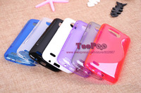 Gift Screen Protector !!! S-Line Colour TPU Silicon Case Cover For Samsung Galaxy Premier i9260