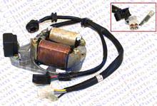 Magneto Stator Plate AC 2 Pole Coil 5 Wire  With Gear Readout 50CC 70CC 90CC 110CC 125CC  Lifan ZongShen Kazuma Dirt Pit Bike(China (Mainland))