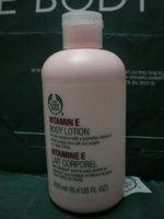 The body shop body shop vitamin e ve body lotion 250ml free shipping