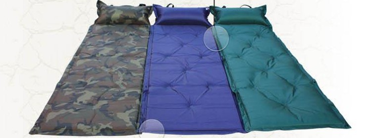 High Quality Camping Automatic Inflatable Mat Tent Mat Sleeping Pads freeshipping wholesale(China (Mainland))