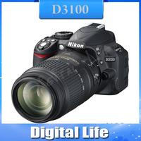 Original Nikon D3100 with Kit AF-S 18-55mm VR Lens Digital SLR