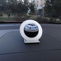 Free shipping Vacuum Large guide the ball car guide the ball car compass instrument tray compass