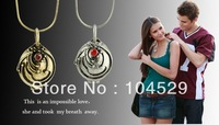 Free shipping!Wholesale lots Inspired by The Vampire Diaries Elena Elena's Vervain Necklace VERVAIN FILLED