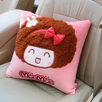Free shipping Saw doll car square pillow car lumbar support cartoon back pillow sofa cushion