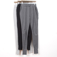 Free shpping Spring sports pants casual trousers 100% cotton wei pants loose plus size
