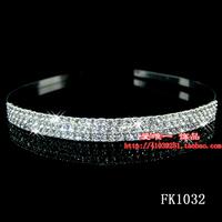 Bridal tiaras hair bands rhinestone crystal headband  wedding hair accessory  pageant tiara jewelry
