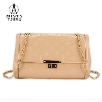 2013 bags fashion women's handbag luxury genuine leather women's small bag messenger bag 5153 free shipping