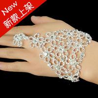 Bridal bracelet chain accessories banquet accessories rhinestone bridal accessories 0285