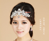 Bridal tiaras hair accessory wedding accessories Hair Band pageant tiara Head Band Headband Jewerly accessories