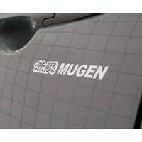 Free Shipping Hot Sale Fashion personality reflective car sticker mugen 25cm car sticker Drop Shipping