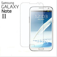 Free Shipping High Quality Clear Screen Protector for Samsung Galaxy Note 2 II N7100 with Retail Package 10pcs/lot