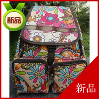 backpack women's handbag yoga cotton prints bag nylon bag primary school students school bag printing backpack Free Shipping