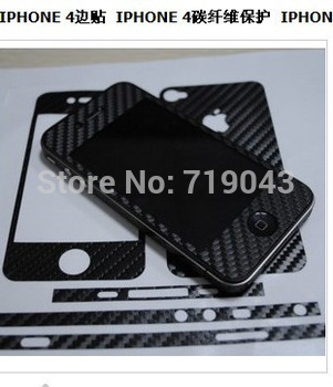 Mobile phone film for iphone 4s full-body film protective film for iphone4 multicolour film keysters