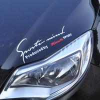Free Shipping Fashion fox 2 mei reflective decoration stickers fox mei car stickers