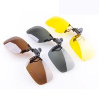 Car glasses noctovision glareproof mirror goggles polarized sunglasses clip myopia clip