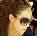 122 vintage big box fashion women's anti-uv sunglasses glasses polarized sunglasses 2013