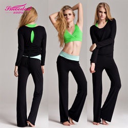 2013 Lady&#39;s Yoga dress Ladies&#39; Fitness Wear Yoga Suit Yoga Clothes Set 4 Sizes Optional(China (Mainland))