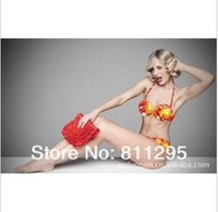 Free shipping 5sets/LOT 2013 New Arrivals Sexy bikini set swimwear Bikini for summer holiday HOT Sale