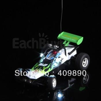 Mini RC Radio Remote Control Racing Car Kart Buggy Kid Gift Green