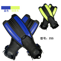 Short design snorkeling flipper submersible fins swimming flippers fins submersible supplies snorkel 255
