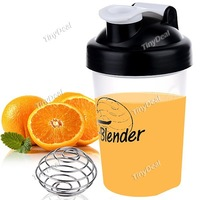 Shaker Bottle Blender Bottle with Stainless Mixer  with blending ball blender bottle protein shaker custom logo shaker bottle