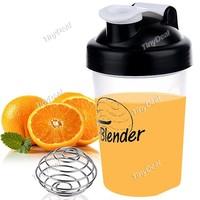 Shaker Bottle Blender Bottle with Stainless Mixer  with blending ball blender bottle protein shaker custom logo shaker bottle