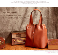 Real  Leather women lady handbag purse Bag tote  bag Vintage Bag