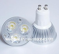 Hot Sale 9W GU10  Warm/Cool White 3*3W LEDs Spot Light Bulbs (AC 85-265V)