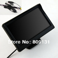 "Car Wireless Reversing Camera Kit 5 Inch Back Up LCD 5"" Digital TFT LCD Car View Monitor + Wireless Reversing Camera"