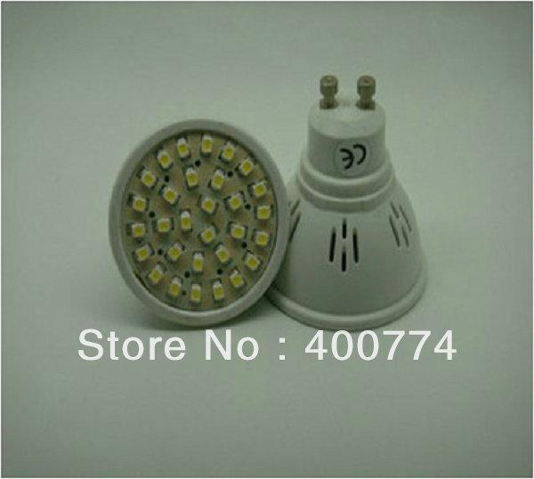 GU10 led bulb 1.5W SMD3528 30LED led light led cup lamp plastic bulb led light(China (Mainland))