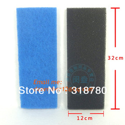 Aquarium Fish Tank Carbon Filter Sponges Foam Pad Bio Biochemical Sponge Filters 2pcs(China (Mainland))