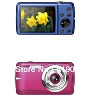 Free Shipping ,Free 4GB SD Card,5.0 MP CMOS Max To 12MP(interpolation) 2.4 Inch LCD 8X Digital Zoom Digital Camera