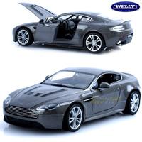 free shipping Wyly 2012 aston martin v12 alloy car model