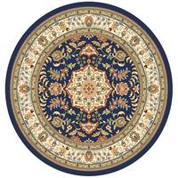 Fashion classic persian rugs round carpet blanket circle diameter1 meters Louvre european prayer rugs for sale