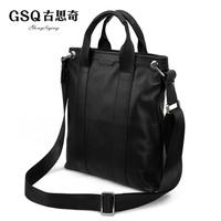 Gsq boutique bag men new arrival male backpack business casual bag messenger bag