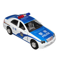 free shipping Police car toy special police car acoustooptical WARRIOR open the door alloy car model toy car alloy car models