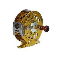 Lida full metal bf800 fly fishing reel former wheel ice fishing wheel round fishing raft