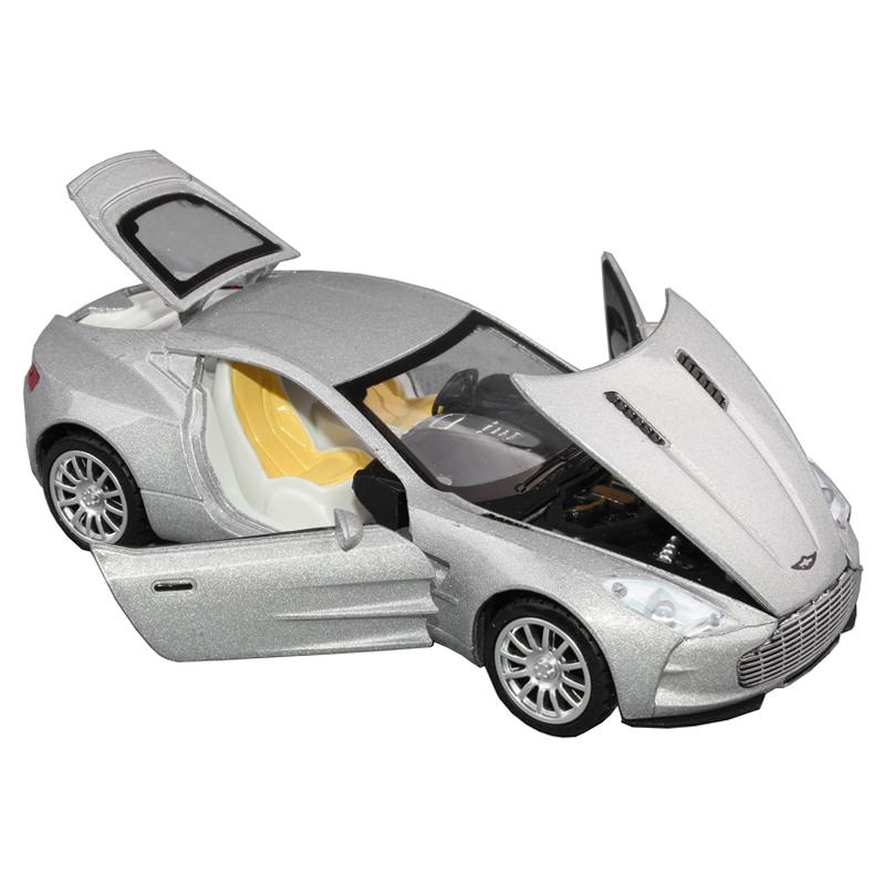 free shipping Wanbao toy car aston martin alloy car model toy car acoustooptical WARRIOR open the door
