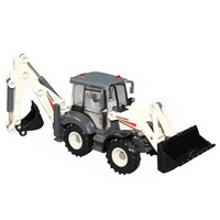 free shipping High quality alloy engineering car both ends of excavator bulldozer alloy car toy