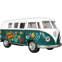 free shipping Vw kt5060df microbiotic the door bus toy alloy car model