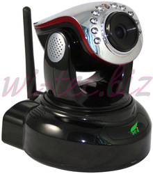 Mini Home security PT camera H.264 Megapixel HD 720P security Wireless IP Dome, IR Cut nightvision Alarm I/O(China (Mainland))