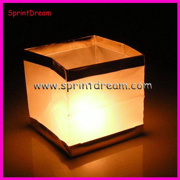 Как сделать водный фонарик своими руками куб 63