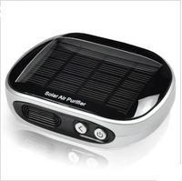 High Quality car air purifier Negative Ion formaldehyde solar oxygen bar ionizer air purifier portable air purifier