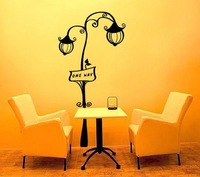 Strightlightsstreetlights sofa tv background wall decoration wall stickers stair