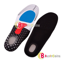 Unisex Orthotic Arch Support Shoe Pad Sport Running Gel Insoles Insert Cushion[25048|01|01](China (Mainland))